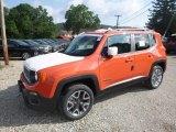 2018 Omaha Orange Jeep Renegade Latitude 4x4 #128737835