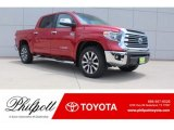Barcelona Red Metallic Toyota Tundra in 2018