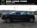 2018 Blue Jeans Ford F150 STX SuperCab 4x4 #128766203