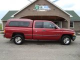 1999 Metallic Red Dodge Ram 1500 SLT Extended Cab #12861170