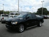 2019 Diamond Black Crystal Pearl Ram 1500 Big Horn Quad Cab #128793284