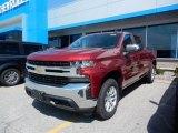 2019 Cajun Red Tintcoat Chevrolet Silverado 1500 LT Crew Cab 4WD #128793263
