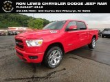2019 Flame Red Ram 1500 Big Horn Crew Cab 4x4 #128793157