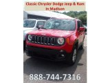 2018 Colorado Red Jeep Renegade Latitude 4x4 #128814711
