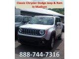 2018 Glacier Metallic Jeep Renegade Latitude 4x4 #128814710