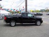 2009 Black Chevrolet Silverado 1500 LT Extended Cab 4x4 #12843440