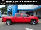 2018 Red Hot Chevrolet Silverado 1500 Custom Crew Cab 4x4 #128814528