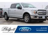 2018 Ingot Silver Ford F150 XLT SuperCrew #128814612