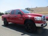 2006 Flame Red Dodge Ram 1500 SLT Quad Cab 4x4 #128837839