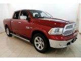 2014 Deep Cherry Red Crystal Pearl Ram 1500 Laramie Crew Cab 4x4 #128837863