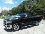 2019 Black Forest Green Pearl Ram 1500 Big Horn Quad Cab #128837911
