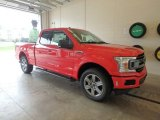 2018 Race Red Ford F150 XLT SuperCab 4x4 #128866734