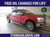 2018 Ruby Red Ford F150 Lariat SuperCrew 4x4 #128866729