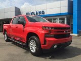 2019 Red Hot Chevrolet Silverado 1500 RST Crew Cab 4WD #128866673