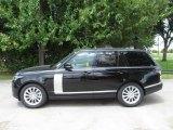 Santorini Black Metallic Land Rover Range Rover in 2018