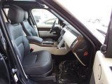 2018 Land Rover Range Rover HSE Front Seat