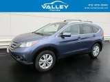 2014 Mountain Air Metallic Honda CR-V EX-L AWD #128891770