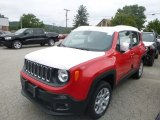 2018 Colorado Red Jeep Renegade Latitude 4x4 #128891943