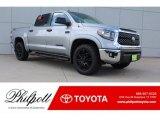 2018 Silver Sky Metallic Toyota Tundra SR5 CrewMax 4x4 #128891994