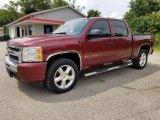 2009 Deep Ruby Red Metallic Chevrolet Silverado 1500 LT Crew Cab 4x4 #128926929