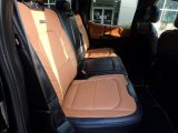 2017 Ford F150 Limited SuperCrew 4x4 Rear Seat