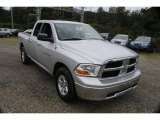 2012 Bright Silver Metallic Dodge Ram 1500 SLT Quad Cab 4x4 #128926624