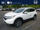 2018 White Diamond Pearl Honda CR-V EX AWD #128926803