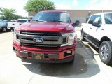 2018 Ruby Red Ford F150 XLT SuperCab 4x4 #128949095