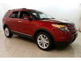 2013 Ruby Red Metallic Ford Explorer Limited 4WD #128949094
