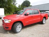 2019 Flame Red Ram 1500 Big Horn Crew Cab 4x4 #128949016