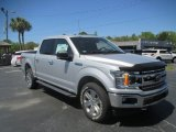 2018 Ingot Silver Ford F150 XLT SuperCrew 4x4 #128967053