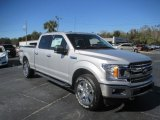 2018 Ingot Silver Ford F150 XLT SuperCrew 4x4 #128967039