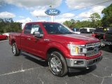 2018 Ruby Red Ford F150 XLT SuperCab 4x4 #128967034