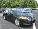 2018 Shadow Black Ford Fusion Hybrid SE #128967031