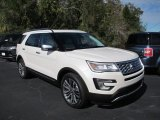 2017 White Platinum Ford Explorer Platinum 4WD #128967018
