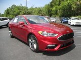 2017 Ruby Red Ford Fusion Sport AWD #128967013