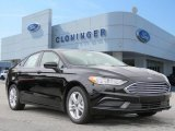 2018 Shadow Black Ford Fusion SE #128966801