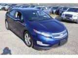 2013 Blue Topaz Metallic Chevrolet Volt  #128966673