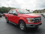 2018 Race Red Ford F150 XLT SuperCrew #128967067