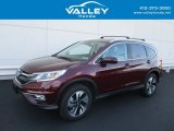 2015 Basque Red Pearl II Honda CR-V LX AWD #128996811