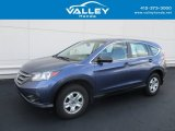 2014 Twilight Blue Metallic Honda CR-V LX AWD #128996805