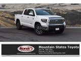 2019 Super White Toyota Tundra Limited CrewMax 4x4 #129017680