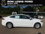 2018 Oxford White Ford Fusion S #129017788