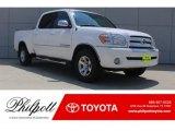 2005 Natural White Toyota Tundra SR5 Double Cab #129017890
