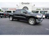 2019 Diamond Black Crystal Pearl Ram 1500 Tradesman Crew Cab #129017858