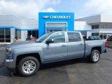 2016 Slate Grey Metallic Chevrolet Silverado 1500 LT Crew Cab 4x4 #129051417