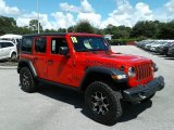 2018 Jeep Wrangler Unlimited Firecracker Red