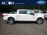 2018 White Platinum Ford F150 King Ranch SuperCrew 4x4 #129051434
