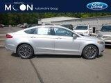 2018 Ingot Silver Ford Fusion SE #129051433