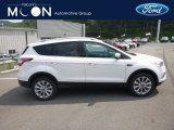 2018 White Platinum Ford Escape Titanium 4WD #129051428